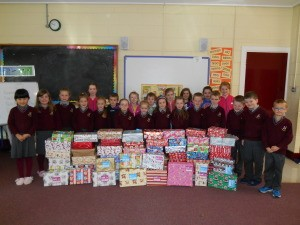 christmas shoe box mrs duff