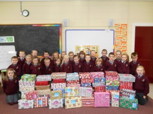 christmas shoe box ms byrne