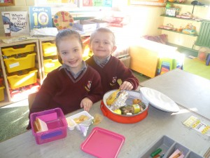 Look at our lovely lunches!